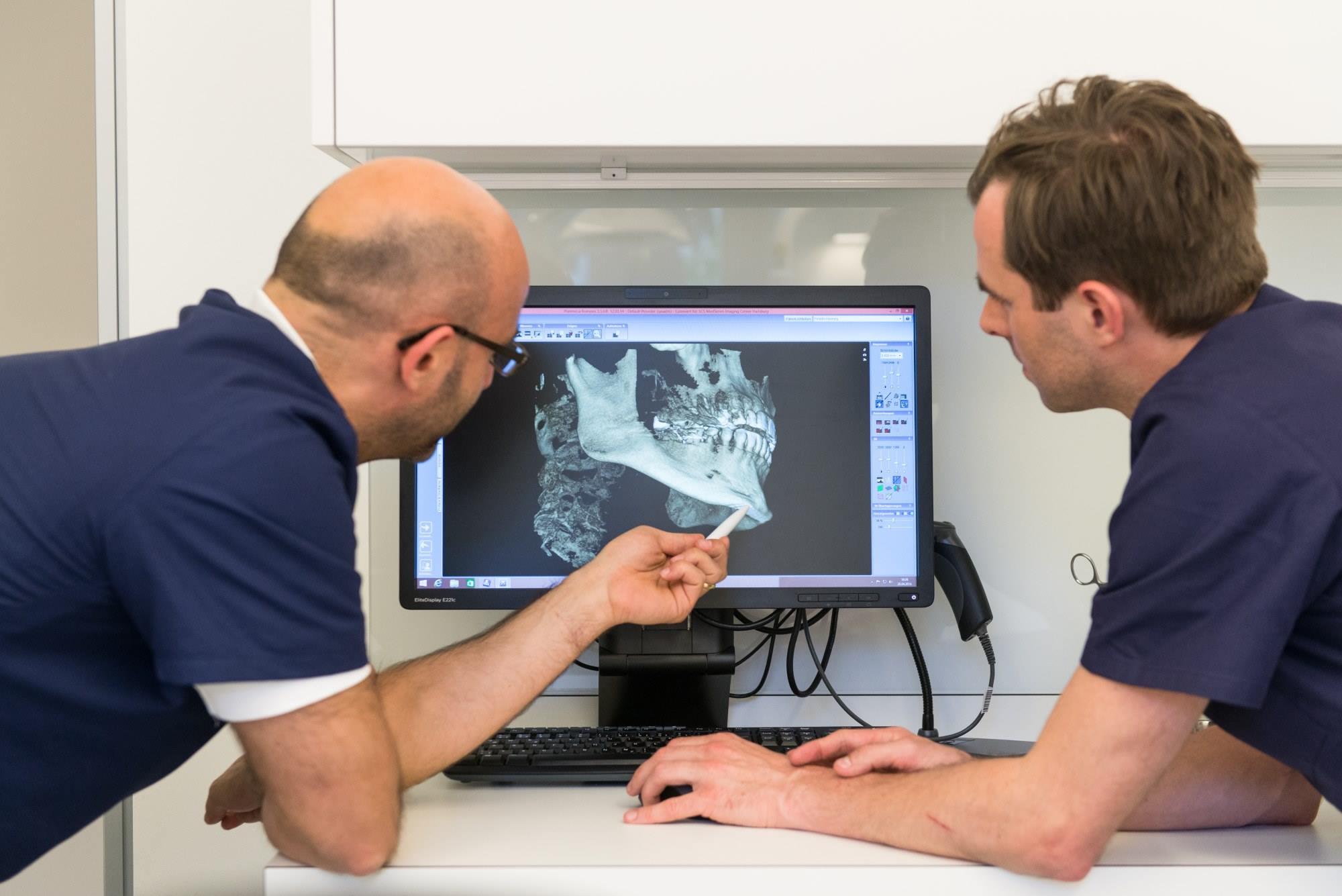 DVT - 3D-Röntgen Hamburg Implantologie